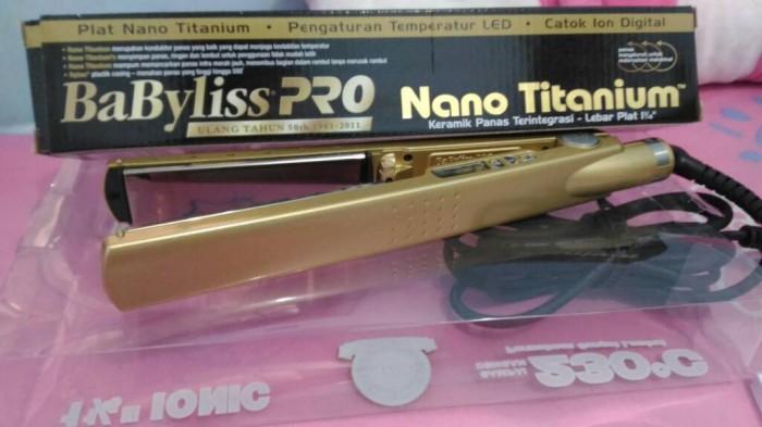 Catok Rambut Babyliss Pro Nano Titanium - Titanium Images and Foto f46a9284cb