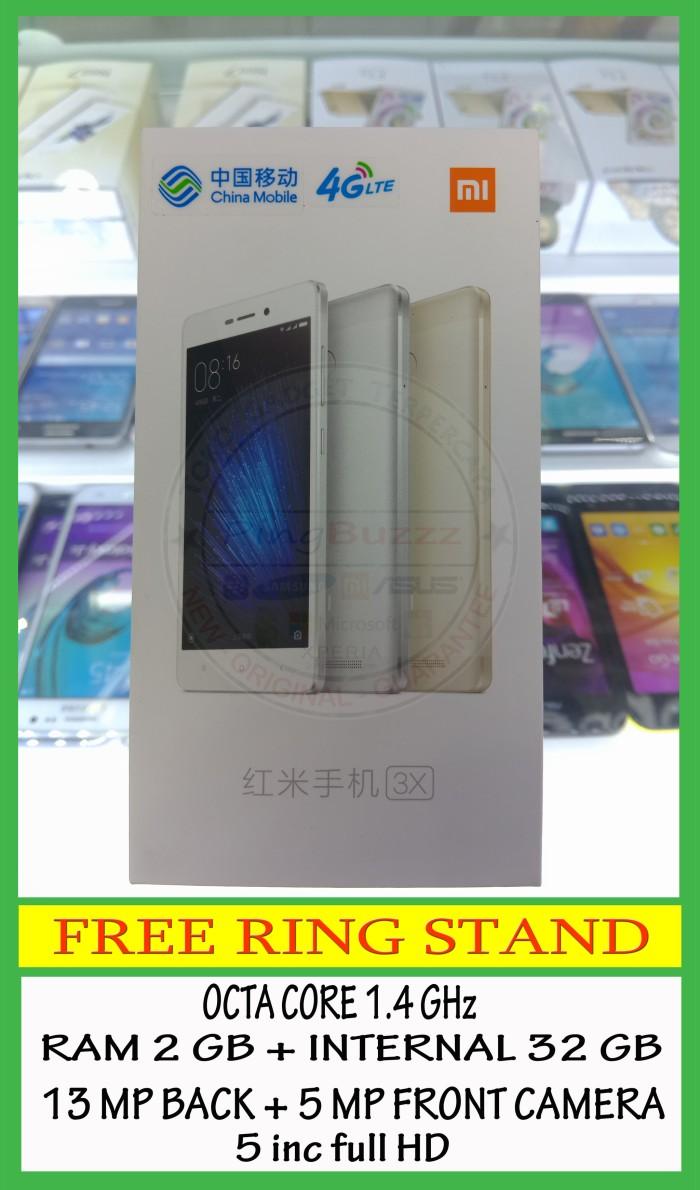 Jual Xiaomi Redmi 3x 2 32 Gb New Pingbuzzz Tokopedia Ram 32gb