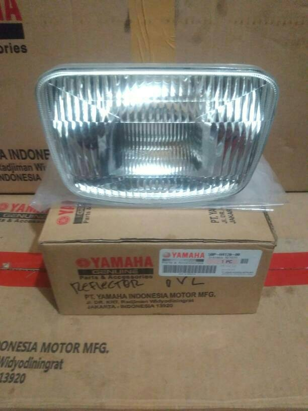 harga Reflektor assy lampu depan oval rx-king muda orginal yamaha Tokopedia.com