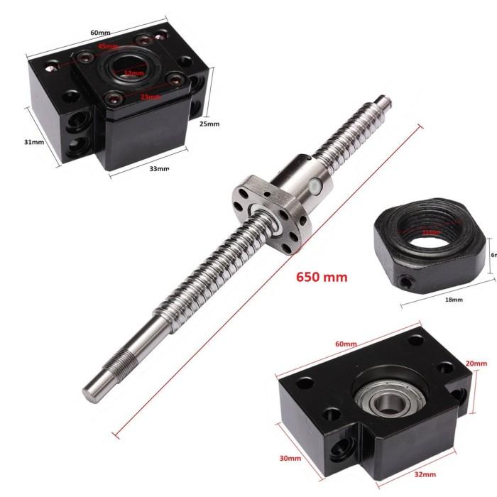 harga Cnc rn1605-6500mm-c7 ballscrew &1 set bk/bf1 set Tokopedia.com