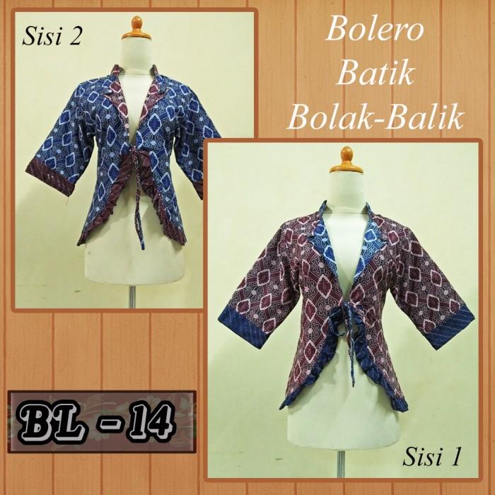 Jual Batik  Bolero Batik  Batik Pekalongan  Batik Couple  Blezer ... 631bbf09d7