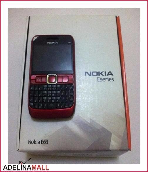 harga [promo] nokia e63 red | nokia jadul ori | hp jadul murah Tokopedia.com