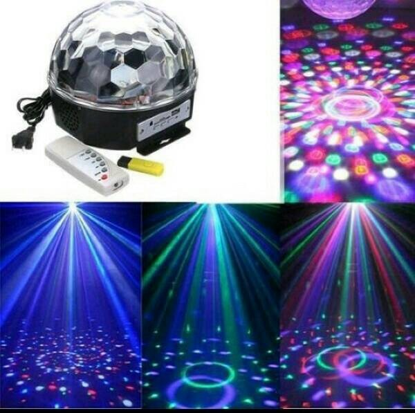 harga Led magic ball mp3 / lampu disco music jamur mp3 bola musik Tokopedia.com