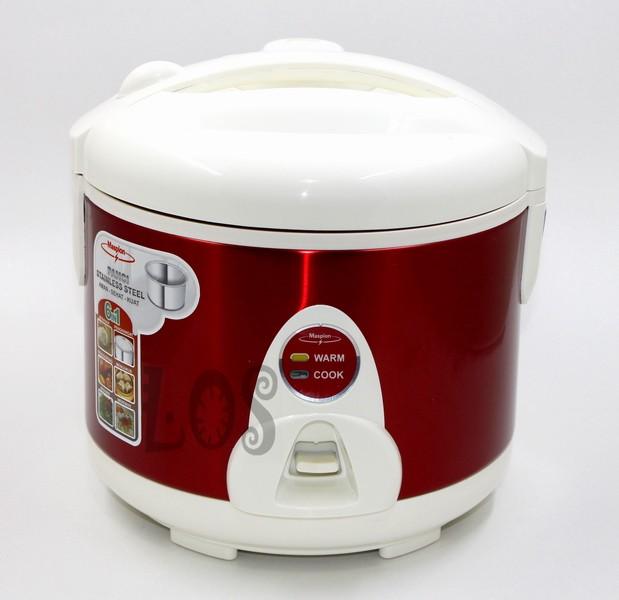 Magic com | rice cooker maspion merah 1.8lt mrj-208ms (00113.00128)