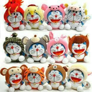Jual Boneka Rekam Doraemon Kartun Karakter Lucu Unik Kado Hadiah