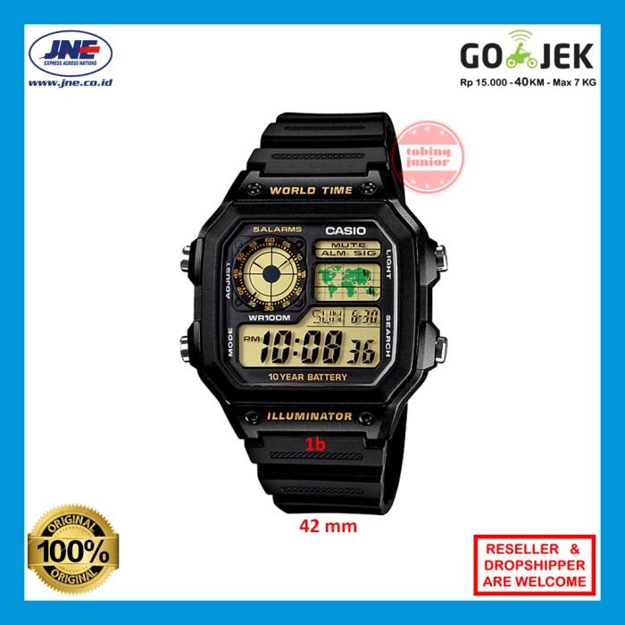 harga Jam tangan pria wanita original casio ae-1200wh ae1200wh 1a 1b murah Tokopedia.com