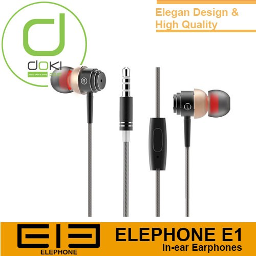 harga Elephone e1 in-ear earphones high quality Tokopedia.com