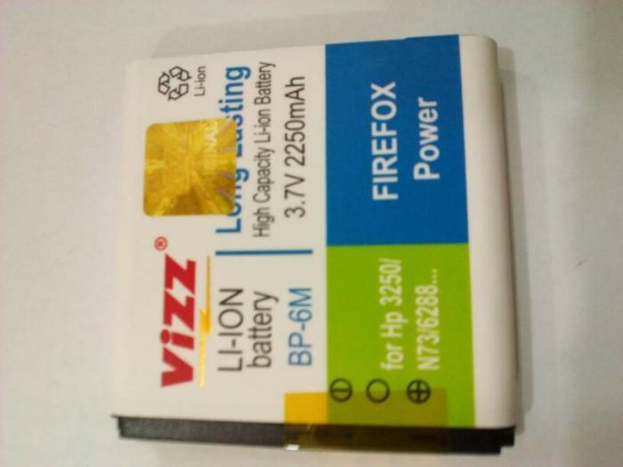 harga Baterai batt batre double power vizz nokia bp6m n73 3250 Tokopedia.com