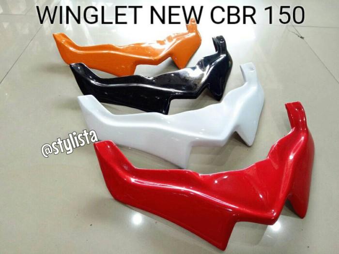 harga Winglet honda new cbr 150 aksesoris motor murah Tokopedia.com