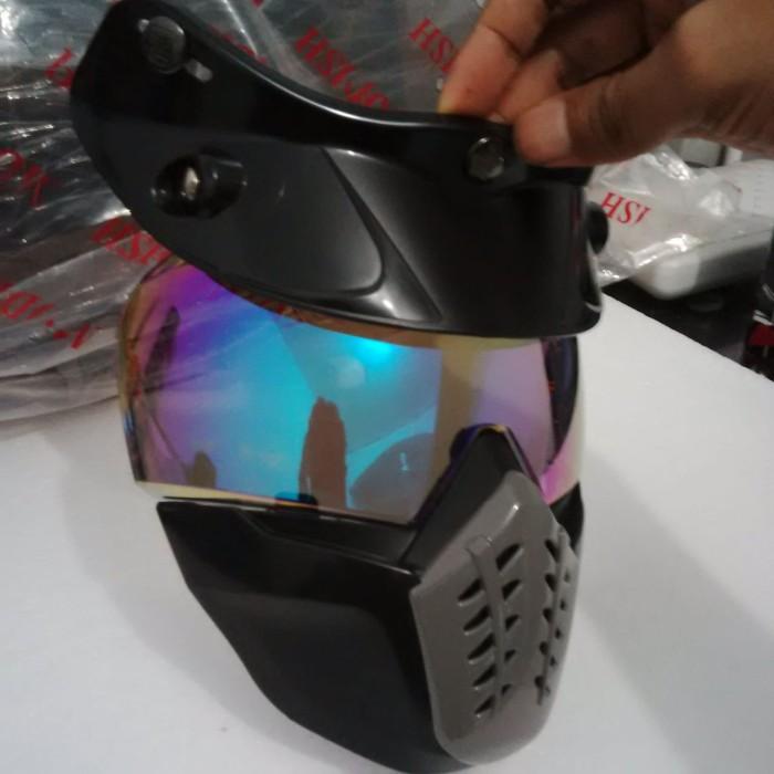 Goggle Mask Helm Bogo Pelangi 3