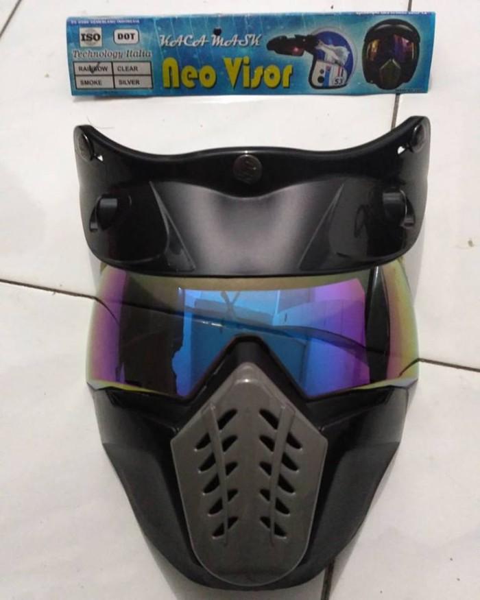 Goggle Mask Helm Bogo Pelangi 1