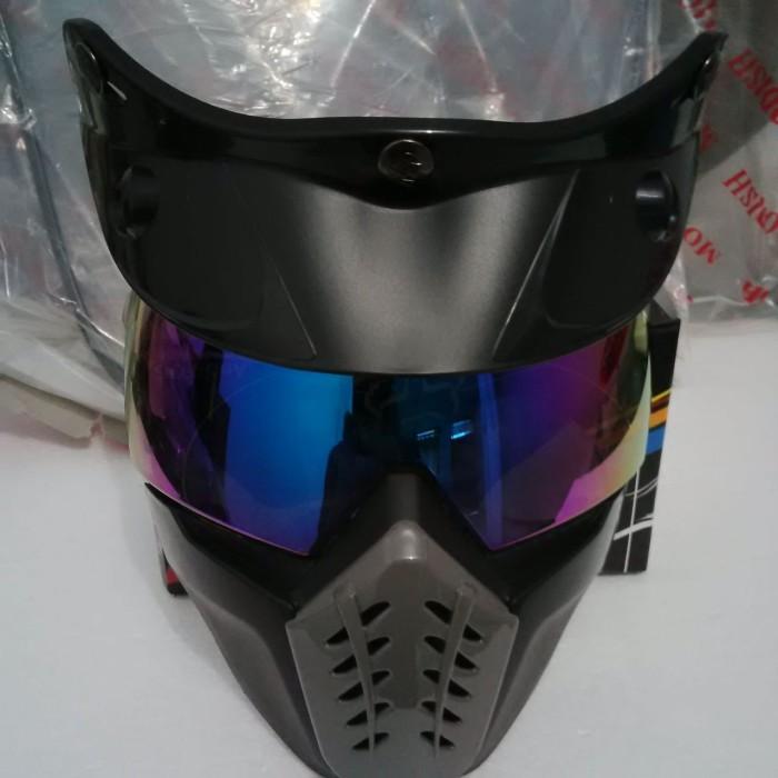 Goggle Mask Helm Bogo Pelangi 2