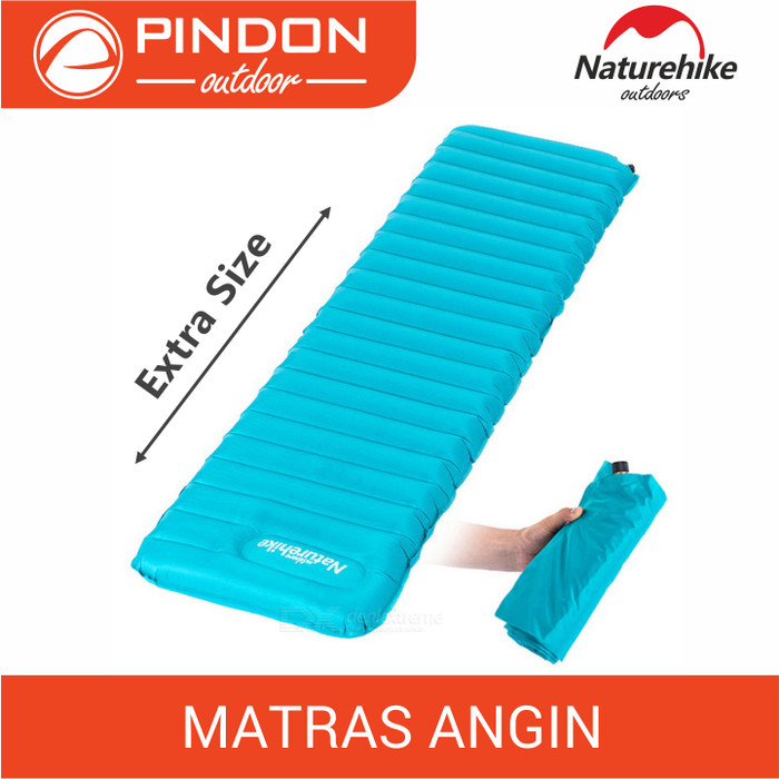 harga [extra Size] Matras Angin Naturehike Manual Inflatable | Sleeping Pad Tokopedia.com