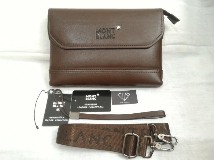 Jual Handbag Tas Tangan 2 in 1 Pria Kulit Mont Blanc Import Premium ... 2a9cff3033