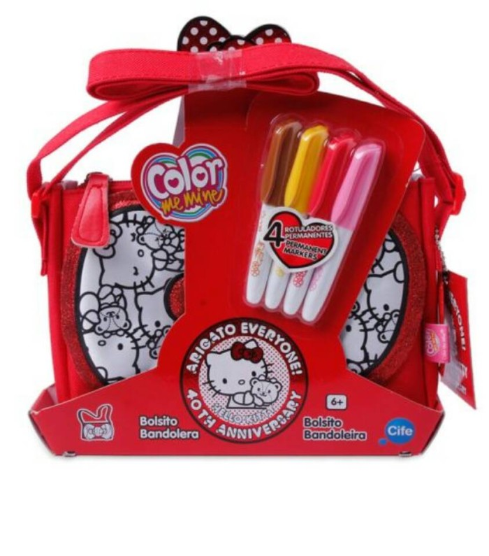 Jual Tas Mewarnai Hello Kitty Colouring Bag The Mara Shop