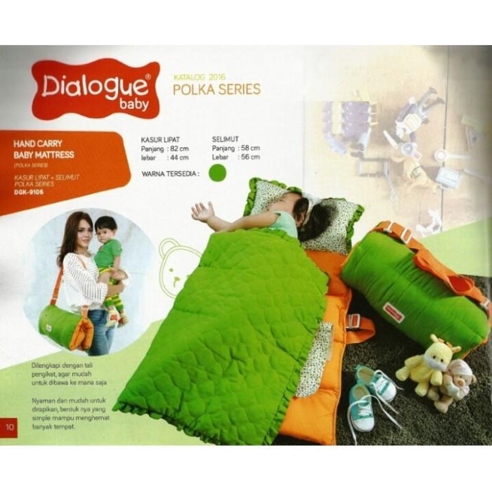 harga Dialogue baby matras kasur lipat + selimut bayi polka series dgk9106 Tokopedia.com