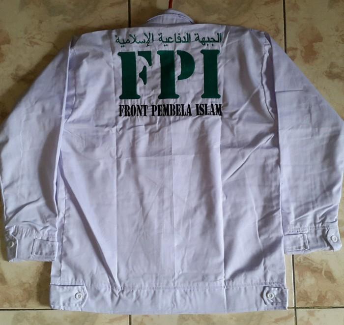 Jual Jaket Front Pembela Islam Jaket Fpi Jaket Drill Dki Jakarta