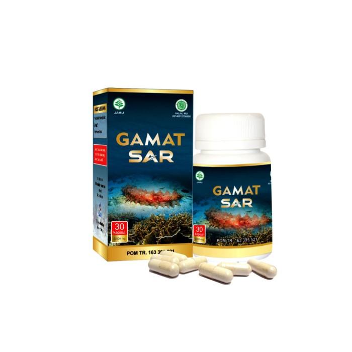 Foto Produk GamatSAR 30kapsul dari jpsw herbal