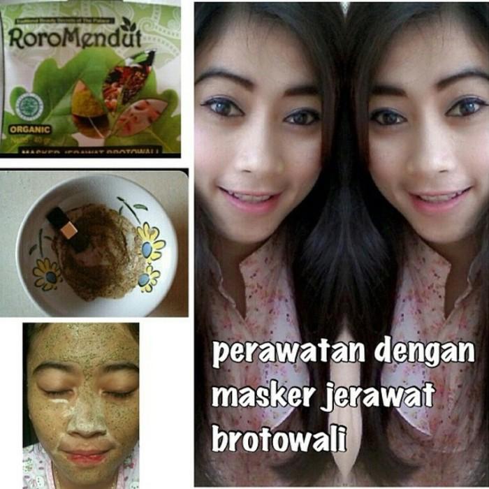 Roro Mendut Masker Brotowali / Masker Jerawat (4 Pcs)