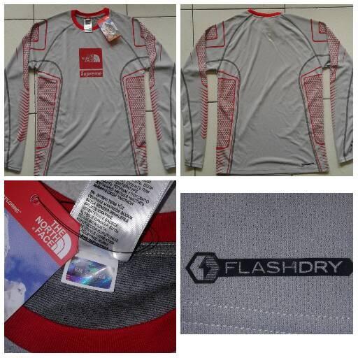 harga Beslayer the north face flashdry supreme Tokopedia.com