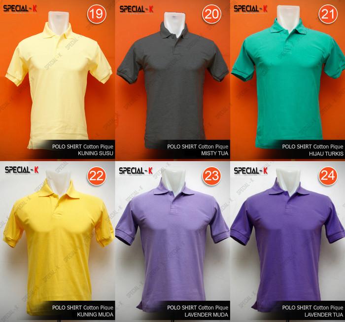 Jual Kaos Polo shirt Kerah Polos XL  94769d9dbc