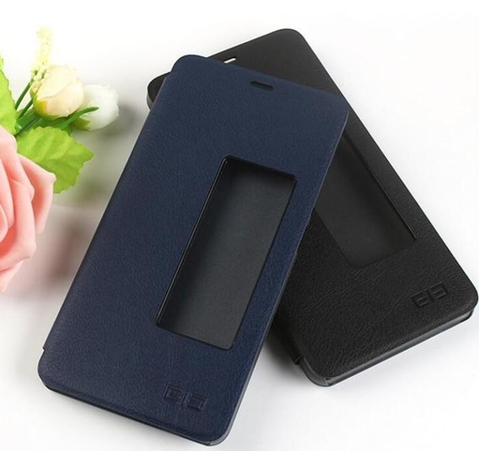 harga Elephone s7 leather case flip cover Tokopedia.com