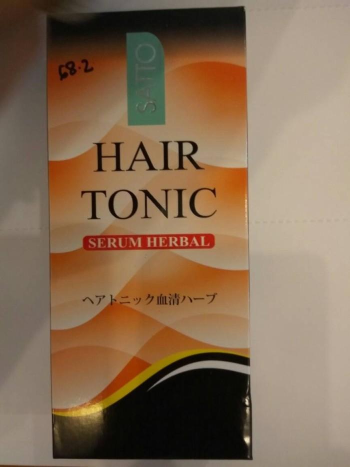 harga Satto hair tonic serum penumbuh rambut - 160 ml murah grosir Tokopedia.com