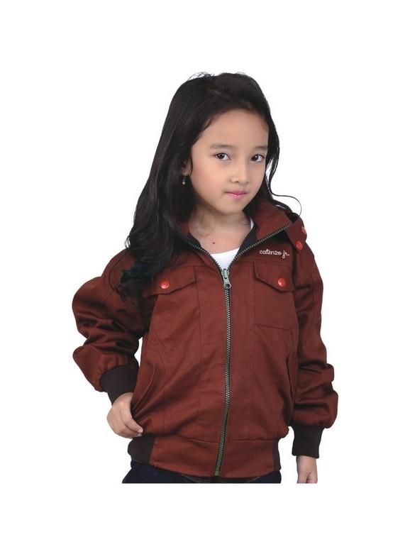 Jaket Anak perempuan Catenzo Junior CNU 138 Marun 4,6,8,10