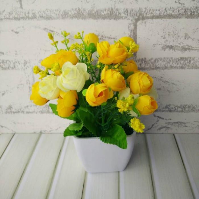 Jual buket bunga plastik ARTIFICIAL artifisial palsu dekorasi rumah ... a7383487d5