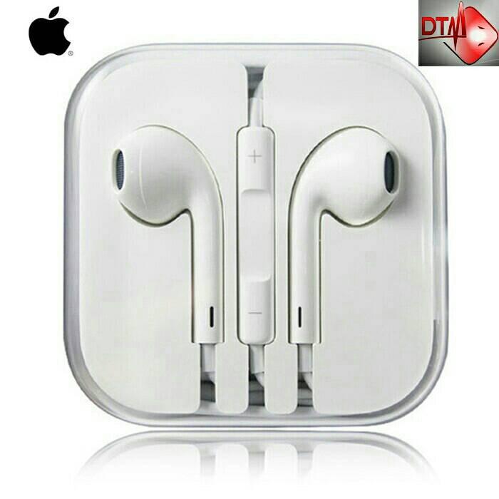 harga Earphone headset apple iphone 5/5s/6/6+/ipad/macbook new! original Tokopedia.com