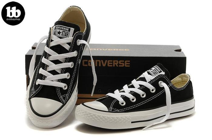 Jual KEREN Sepatu Converse All Star Pendek Pria dan Wanita  40b47969f8