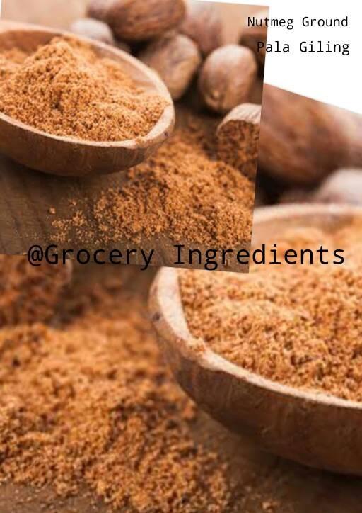 Foto Produk Asli Pala Bubuk / Nutmeg Ground / Nutmeg Powder - 35gram dari Grocery Ingredients