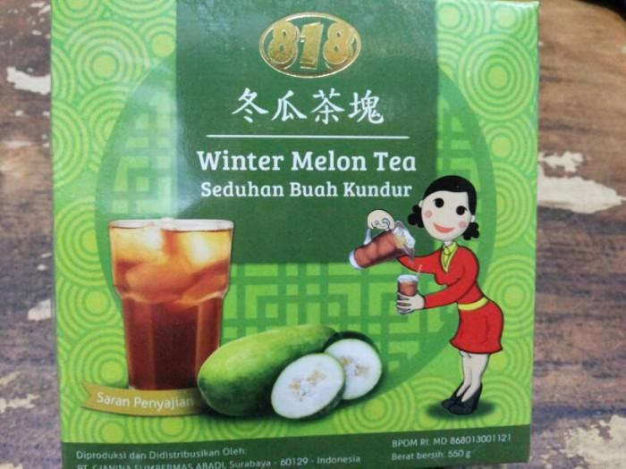 Minuman Buah Kundur | Winter Melon Tea 818. Source · WINTER MELON TEA 818
