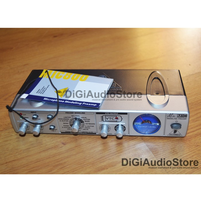 harga Behringer mic800 [ mic 800 ] microphone modeling preamp Tokopedia.com