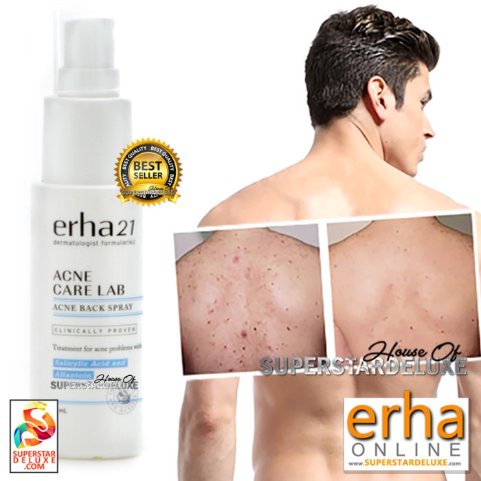 harga Erha erha21 acne body spray Tokopedia.com