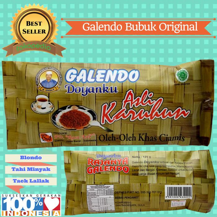 harga Blondo / kethak karuhun bubuk rasa original 125gr khas jateng jatim Tokopedia.com