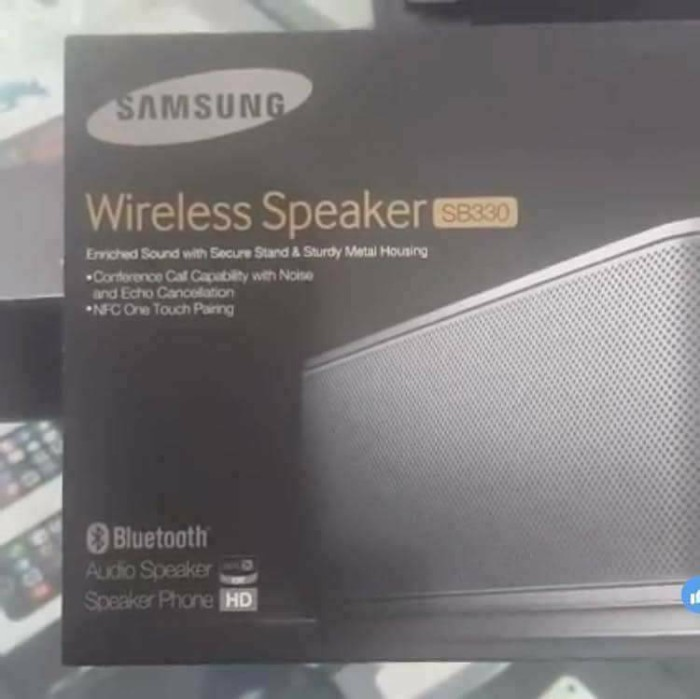 Jual Samsung Sb330 Wireless Speaker Oxtore Tokopedia