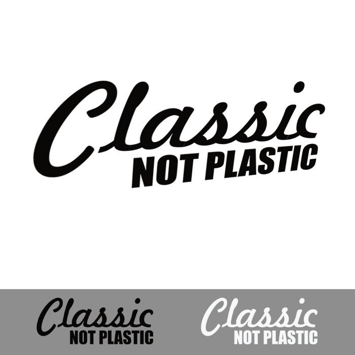 harga Stiker classic no plasctic kaca body mobil lucu cutting sticker unik Tokopedia.com