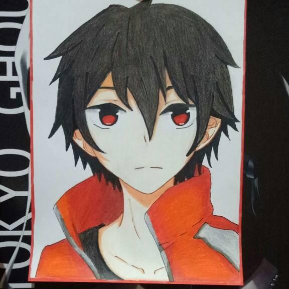 Jual Open Commission Sketsa Anime Headshot Gambar Anime Dki
