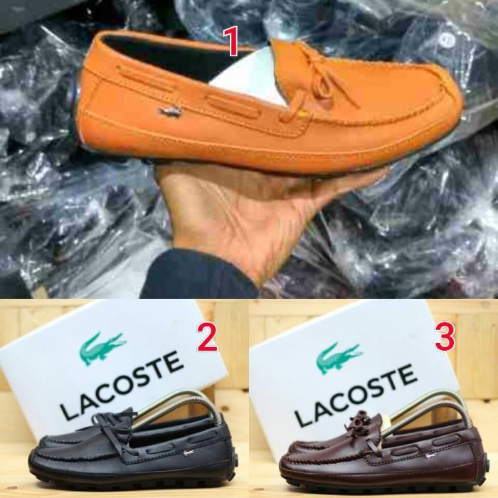 Jual sepatu lacoste psd casual pria sloo slip on best seller formal ... f971faed81