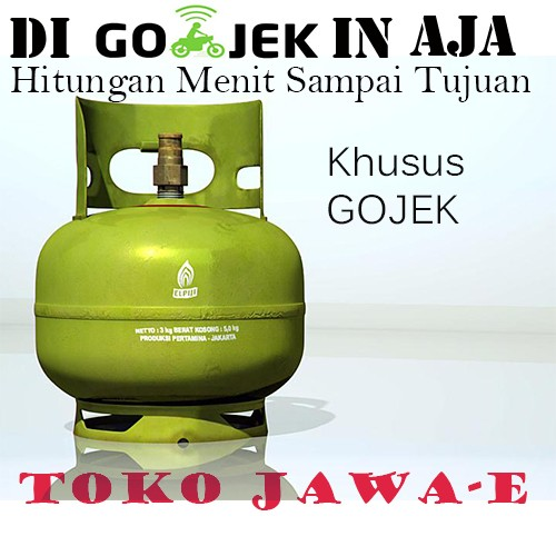 harga Tabung gas elpiji 3kg/tabung gas melon 3kg Tokopedia.com