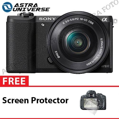 harga Sony alpha a5100 kit 16-50mm free screen protector garansi 1 tahun Tokopedia.com