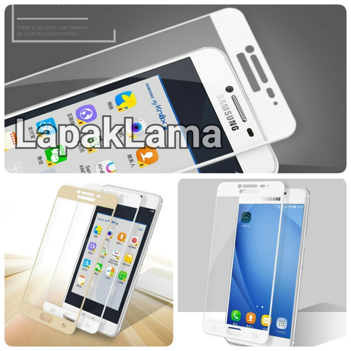 X2 Tempered Glass Warna / Colour Samsung Galaxy J2 Prime Screen Guard .