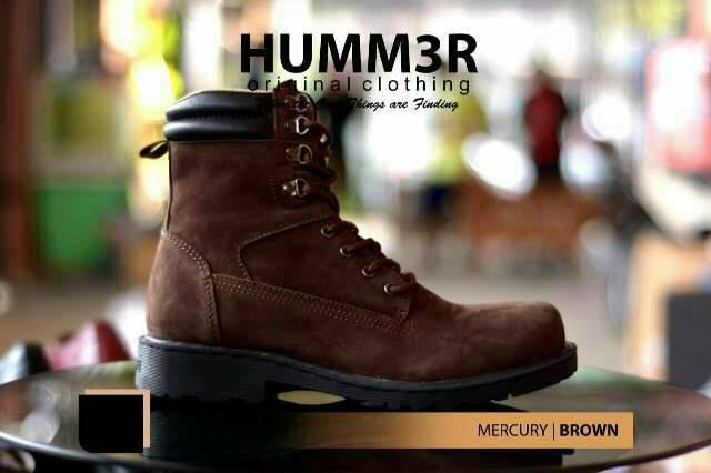 Jual Sepatu Boots Pria Original Clothing Bandung Hummer Mercury ... ddb8ba0e9f