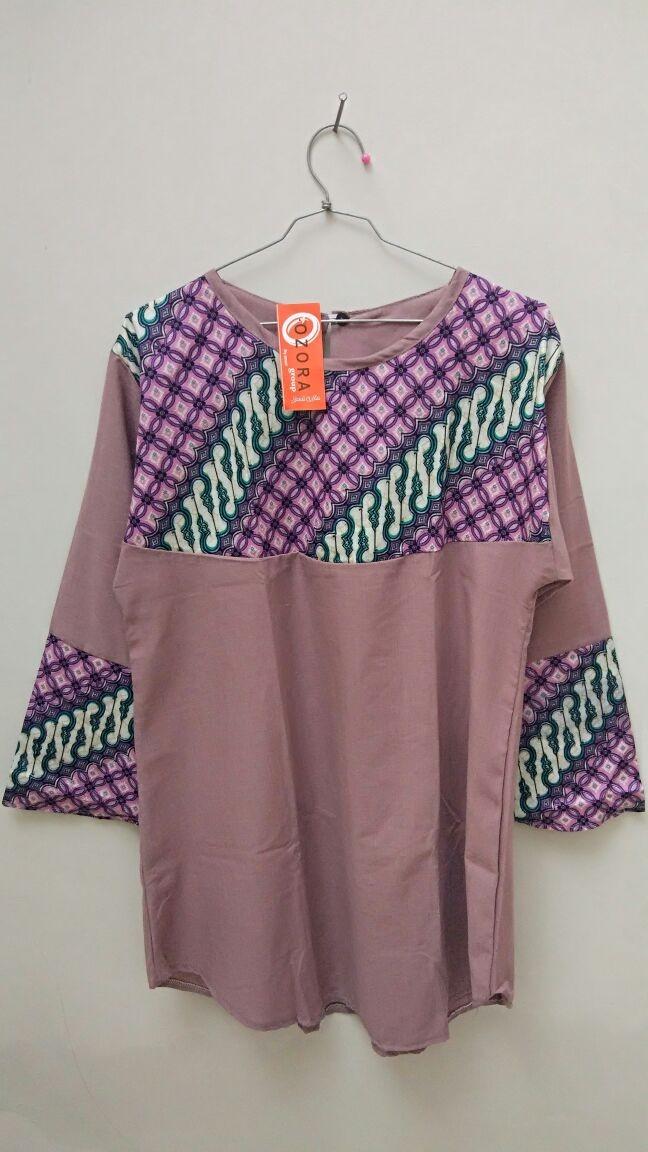 Jual Baju atasan wanita kantor blouse BIG SIZE UKURAN BESAR batik ... 08b714e97f