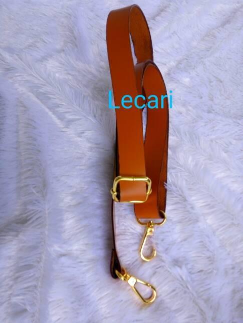 Handle tas pu leather / tali tas selempang / bahan craft