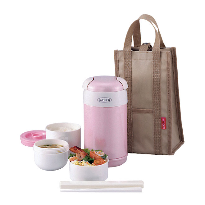 harga Tiger stainless lunch jar - pink Tokopedia.com