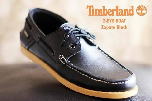 Jual sepatu timberland 2 eye boat zapato black - BANDAR PANTOFEL ... 92d621e032