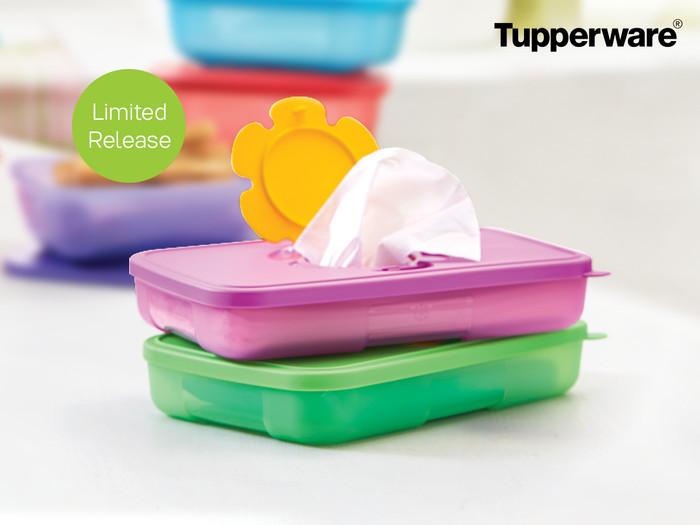 Tupperware Tissue Box Small (2pcs) (Kotak Tisu)