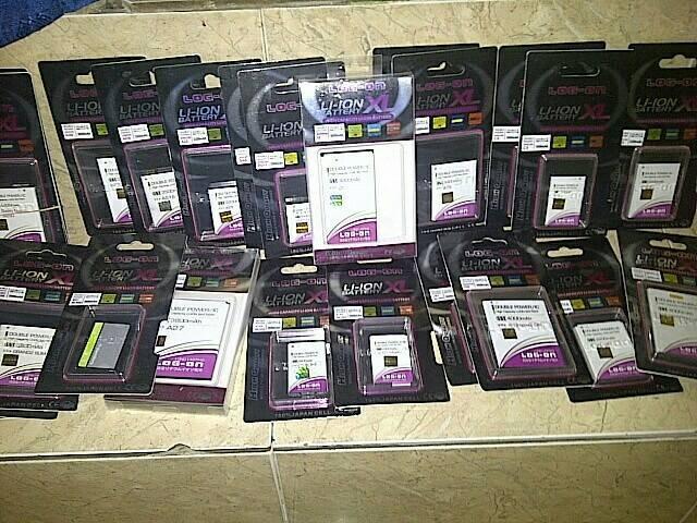 harga Batre nokia lumia 532 / 435 / bv-5j battery hp double power log on Tokopedia.com